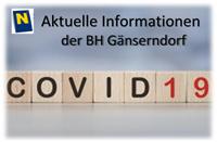 Aktuelle Informationen zu COVID-19 im Bezirk Gänserndorf